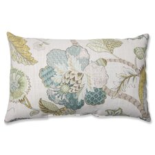 Finders Keepers Peacock Cotton Lumbar Pillow