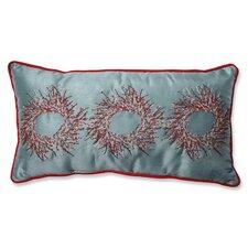 Christmas Wreaths Lumbar Pillow