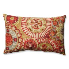 Indira Cardinal Cotton Lumbar Pillow