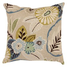 Tracey Tropical Throw Pillow