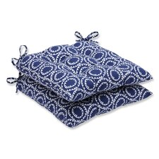 Ring a Bell Outdoor Dining Chair Cushion (Set of 2)