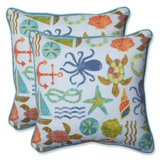 Seapoint Indoor/Outdoor Throw Pillow (Set of 2)