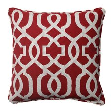New Geo Corded Indoor/Outdoor Throw Pillow (Set of 2)