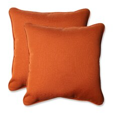 Cinnabar Corded Indoor/Outdoor Throw Pillow (Set of 2)