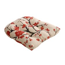 Flowering Outdoor Dining Chair Cushion