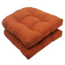 Cinnabar Outdoor Seat Cushion (Set of 2)