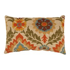 Santa Maria Cotton Lumbar Pillow