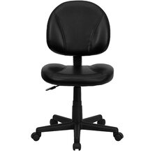 Mid Back Leather Task Chair II