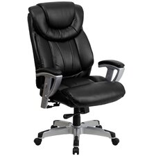 Hercules Series Leather Executive Chair with Arms