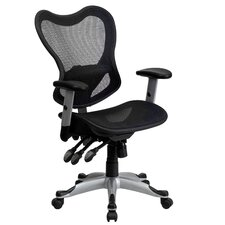 Mesh Office Chair with Triple Paddle Control II