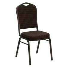 Hercules Series Crown Back Stacking Guest Chair