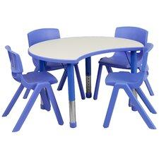 "35.5"" x 25.13"" Kidney Classroom Table"