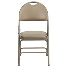 Hercules Series Personalized Folding Chair with Easy-Carry Handle