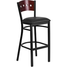 "Hercules Series 32"" Bar Stool with Cushion"