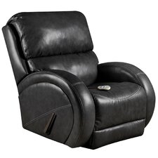 Bentley Massaging Leather Recliner with Heat Control