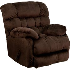 Sharpei Contemporary Microfiber Rocker Recliner