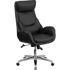 High-Back Leather Chair