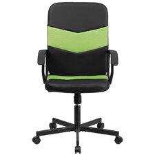 Mid-Back Black Mesh Executive Chair