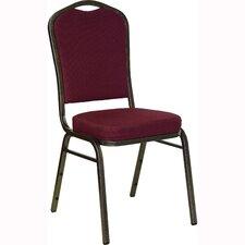 Hercules Series Crown Back Banquet Chair with Cushion