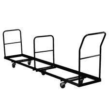 "45"" x 19.5"" x 105"" Vertical Storage Folding Chair Dolly"