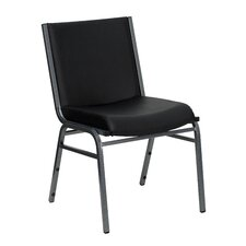 Hercules Series Armless Heavy Duty Padded Stacking Chair