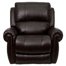 Classic Leather Chaise Recliner