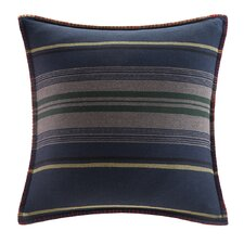Deep River Yarn Dyed Stripe Throw Pillow