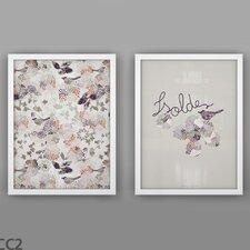 2 Piece Prints Mysteries Unframed Art Set