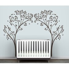 Tree Canopy Portal Wall Decal