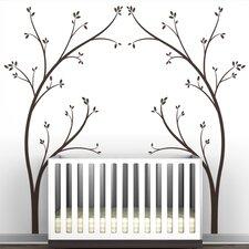 "Portal ""Tree Canopy Bed Headboard"" Wall Decal"