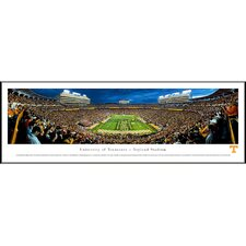 """NCAA University of Tennessee - Power """"T"""" Standard Framed Photographic Print"""