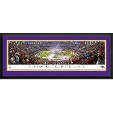 NFL Super Bowl 2013 by Christopher Gjevre Framed Photographic Print