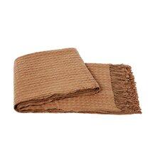 Waffleweave Wool Blend Throw