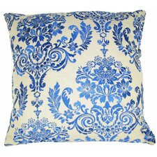 French Damask Throw Pillow