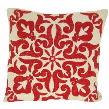 Damascus Linen Throw Pillow