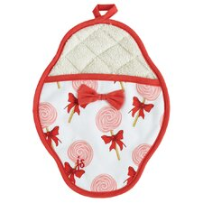 Cutie Pops Scalloped Pot Mitt