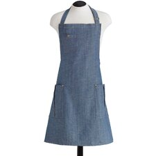 Denim Bottle Opener with BBQ Apron
