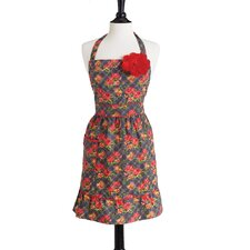 Quilted Floral Bib Courtney Apron