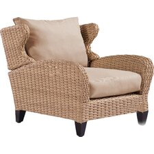 Avignon Wicker Lounge Chair with Cushion