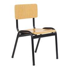 "20.9"" Wood Classroom Chair"