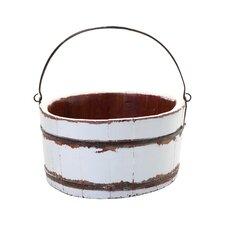 Vintage Wooden Wash Bucket