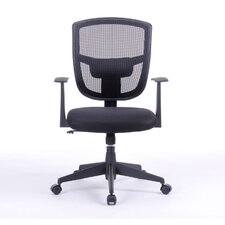 """Darius 35.8"""" Mid-back Mesh Office Chair with Arms"""