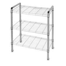 "Art of Storage Quick Rack 18.62"" H 3 Shelf Shelving Unit"