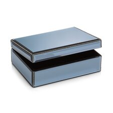 Smoke Jewelry Box with Beads