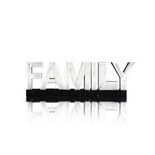 Family Word Art Mirror
