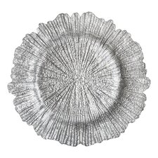 "13.5"" Reef Textured Charger Plate"