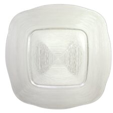 """13.5"""" Reflex Glass Charger Plate (Set of 2)"""