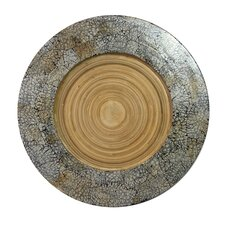 """13"""" Bamboo Charger Plate (Set of 4)"""