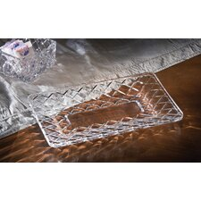 Muirfield 3 Piece Crystal Platter Set