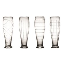 Medallion 20 Oz. Pilsner Glass (Set of 4)